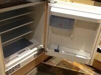 Used integrated fridge