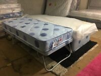 New Single Divan Bed with Mattress with a Pull Out Lift Up Guest Bed