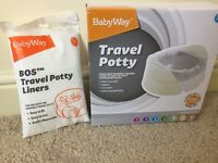 Brand new travel potty
