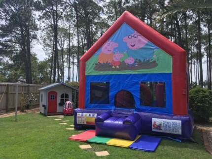 Peppa Pig Jumping Castle $200 Full Day Hire
