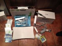 Nintendo Wii plus Wii fit and accessories