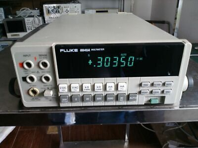 1pc Used Fluke 8840a Ems Or Dhl P4846 Yl