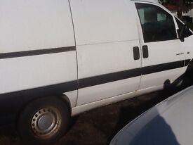 Dispatch van for parts