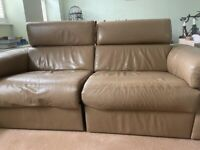 Leather Reclining Sofa & Single Chair from Next