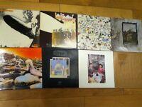 Led Zeppelin Original Vinyl LP's and O2 Concert memorabilia