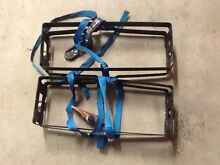 Rhino rack Jerry can holders and straps x 2 Trinity Park Cairns Area Preview
