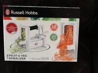 Brand new, unused, Spiralizer, Russell Hobbs.