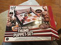 WWE Thumb Puppet Set