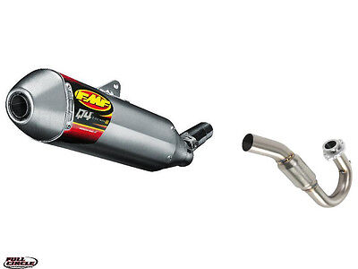 FMF Q4 AND POWERBOMB SYSTEM 2008 17 <em>YAMAHA</em> WR250R WR250X EXHAUST PIPE