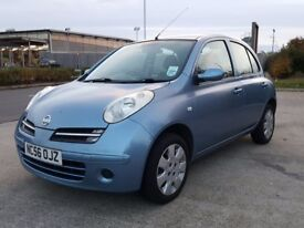 SUPERB NISSAN MICRA 1.2, 2007, FSH, LOW MILEAGE, LONG MOT, SUPERB CONDITION, MUST SEE!!!