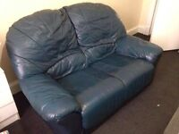 FREE two navy sofas, one 3 seater and one 2 seater (these can be taken separately)