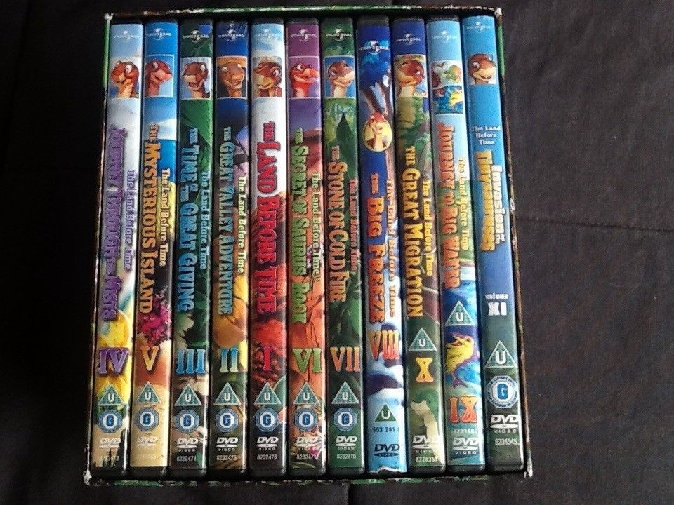 The land before time - 11 DVD collection