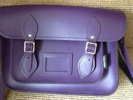 Brand new ZATCHELS leather hand bag