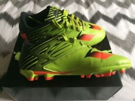 Boys Adidas Messi Football Boots.