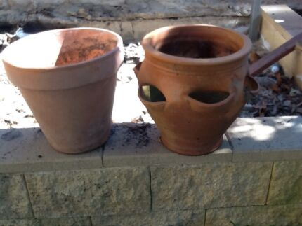 Terracotta pots Nelson Bay Port Stephens Area Preview