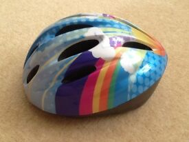 Girls Cycle Helmet, size 50 - 54 cm