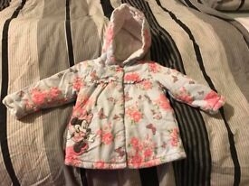 Minnie Mouse jacket excellent condition, 6-9months