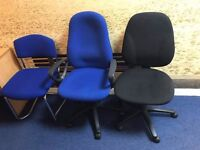 3 OFFICE CHAIRS - FREE