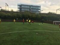 Mile end football 8 a side. Players wanted for casual games (everyone welcome).