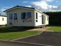 Luxury lodge for hire, Crimdon Dene Caravan Park