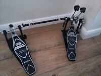 Tama Iron Cobra Double Bass Pedal HP900PTW (chain drive)
