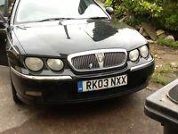 Rover 75 cdt diesel auto tourer