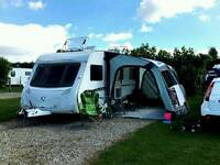 Swift challenger 2007 4 berth fixed bed IMMACULATE with tonnes of extras 2 awnings
