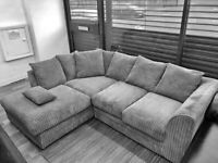 NEW DYLAN JUMBO CORD CORNER AND 3+2 SEATER SOFA SET AVAILABLE IN STOCK