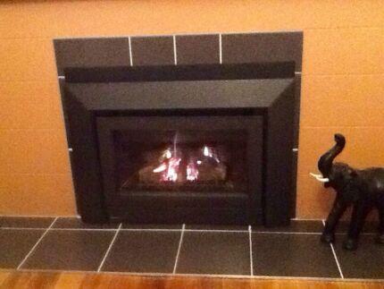 Natural Gas Log Fire South Launceston Launceston Area Preview
