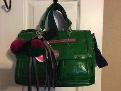 Cute Black Teen (Green Bag*TEEN VOGUE*Cute Christmas Bag*BRAND NEW*Cute Accents*Black &)