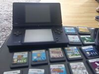 Dsi with games and case