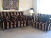 Sterling Furniture (Ashley Manor) 3 seater sofa and loveseat