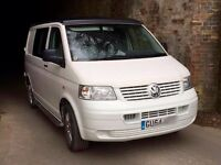VW T5 pop top camper mot till August professionally converted last year, air awning, sun canopy