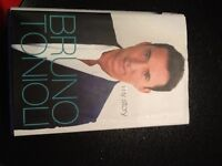 Strictly come dancing,Bruno Toniolli my life,in hard back+ The Girl On The Train,only £2 for both
