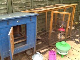 Chicken Coop and Equipment