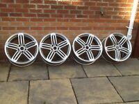 "Genuine 19"" Audi RS6 alloys x4"