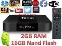 TX3 MINI 2GB RAM 16GB NAND FLASH MAG BOX 250 android smart HD 4k