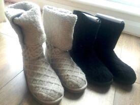 UGG Australia, Woman Julie Black Mountain Boots Size 5