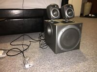 Logitech z2200 Speakers and Subwoofer