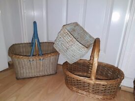 Baskets & hats from
