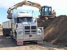 Semi side tipper and 312D cat excavator for sale Kingston Logan Area Preview