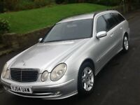 2005 MERCEDES E270 CDI AVANTGARDE AUTO ESTATE 7 SEATER WITH LEATHER