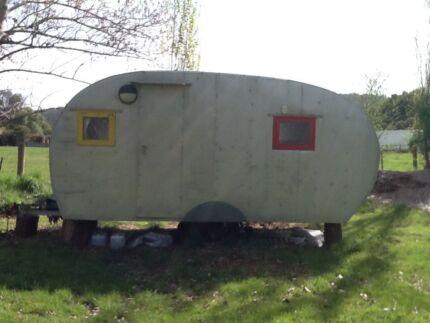 50s-60s Vintage Caravan. Latrobe Latrobe Area Preview