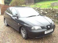 2004 Seat Ibiza 1.4TDI S 5dr 97500 miles MOT Nov 17 £995