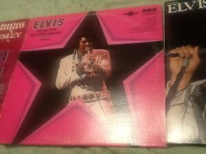 Elvis records-50$ for 8