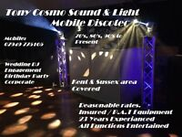 Mobile Disco Professional Sound and lighting