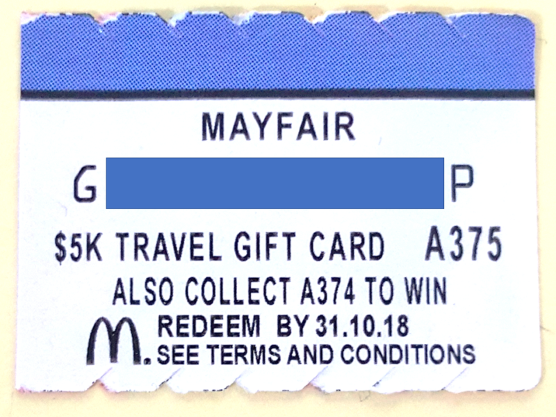 Mayfair Travel Gift Card Review Cards
