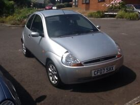 Classy KA Zetec Climate very good condition . One owner. Alloys. Aircon.CD player. For quick sale