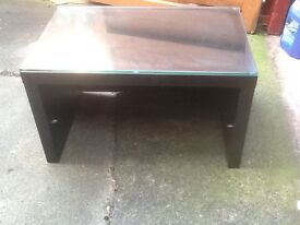 Small black T.V stand or coffee table
