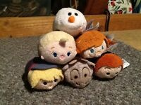 Disney Frozen tsum tsum set of 6 never played with
